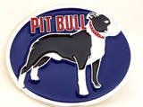 PIT BULL DOG BELT BUCKLE...MADE IN USA
