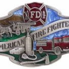 AMERICAN FIREFIGHTERS FIREMEN BUCKLE... SISKIYOU