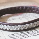 Antique Brown Swedish Lapland Bracelet