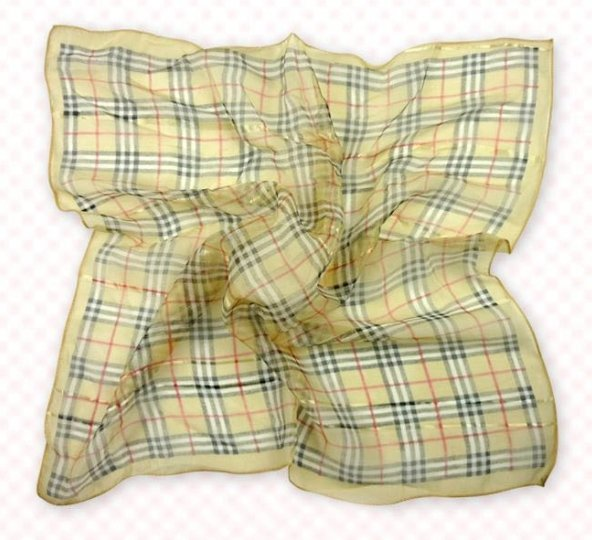 (2S11-SS001 - TAN) Scarf/ Small scarf/ Small Square Scarf/ Lady small scarf - Tan