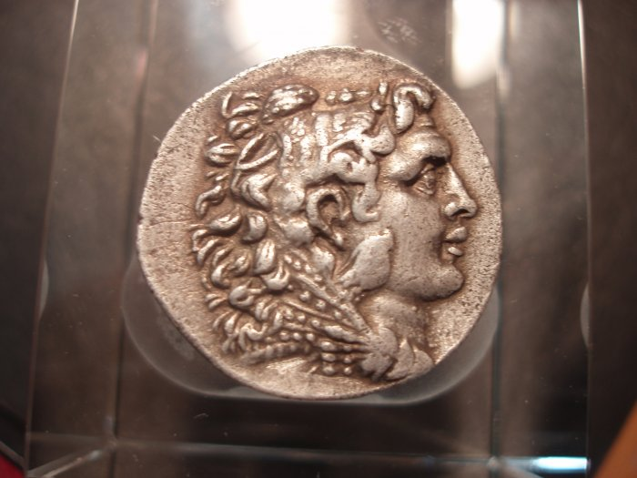 *POLY*ALEXANDER THE GREAT TETRADRACHM C064