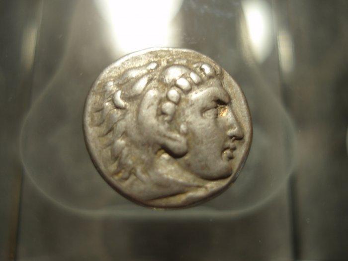 *POLY*Ex J Jencek Alexander the Great drachm C035