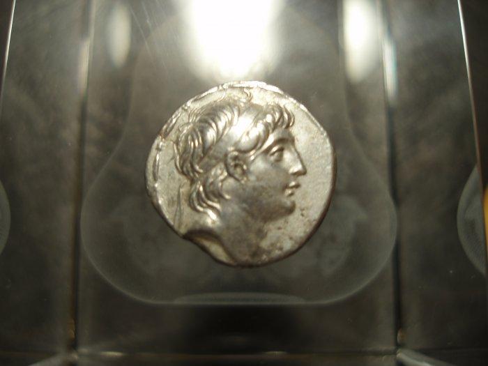 *POLY*Ex HJB Syria Antiochos VII AR drachm C028