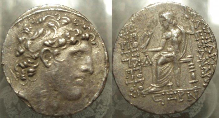 *POLY*Ex FORVM Alexander I BALAS tetradrachm C040