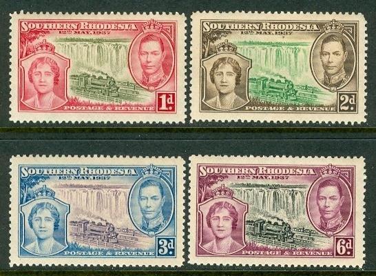 Southern Rhodesia Coronation 1937 full set MNH S00070