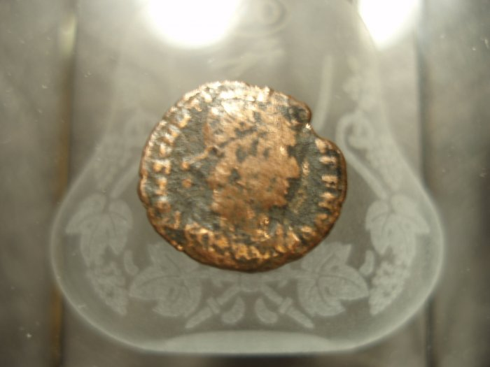 *POLY* Roman Imperial Constans AE 1.95g 15mm C014
