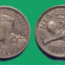 *POLY* NZ 1936 Threepence in excellent condition C003