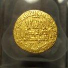*POLY*EX LANZ Abbasiden Al-Mehdi gold dinar C007a