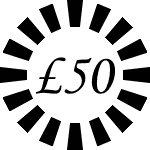 £50 Gift Voucher --UK ONLY--