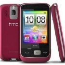 HTC F3188 Pink GSM Unlocked Quad-Band Smart Phone