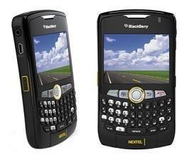 Blackberry Curve 8350i Nextel Dual Band Smart Phone
