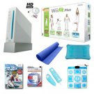 "Nintendo Wii ""Ultimate Holiday Bundle""- Wii Fit Plus, We Ski, Mat, Dance Pad, and More"