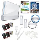"Nintendo Wii ""Fun Game"" Bundle- 17 Games, Wheels, Boxing Gloves, and More"