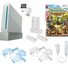 "Nintendo Wii ""Holiday Fun"" Bundle- Shrek Carnival Game, Charger Cradle, Accessories, and More"