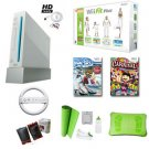 """Nintendo Wii """"Deluxe Holiday"""" Bundle- Wii Fit Plus, We Ski, Carnival Games, Boxing Gloves, and More"""