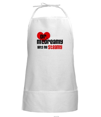 Grey's Anatomy- Dr. McDreamy Gets Me Steamy Apron