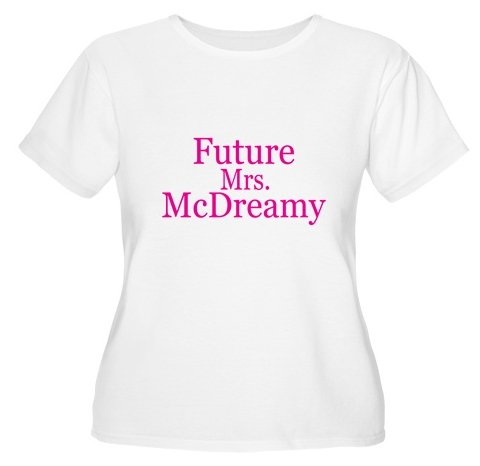 Future Mrs. McDreamy Women's Plus Size Scoop Neck