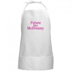Future Mrs. McDreamy BBQ Apron