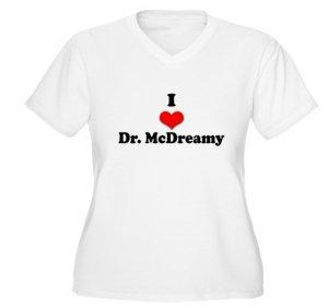 I Heart Dr. McDreamy Women's Plus Size V-Neck T-Shirt