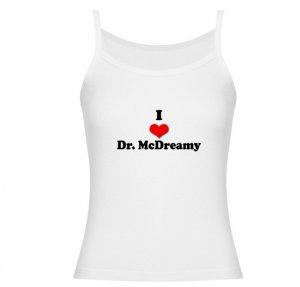 I Heart Dr. McDreamy Jr. Spaghetti Tank