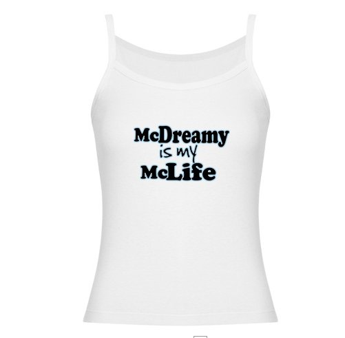 McDreamy is My McLife Jr. Spaghetti Tank