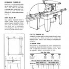 DeWalt Model GE Manual Radial Arm Saw Instructions