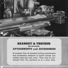 Kearney & Trecker Attachments and Accessories Manual