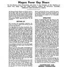 Niagara Power Gap Shears Instruction Manual