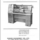 Dashin Prince 12 Inch Lathe Manual Parts & Operation