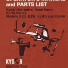 Kysor Johnson KJ-10 Series Manual KJD, KJHD & KJHW