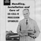 Ex-Cell-O Grinding Spindle Care Installation & Handling