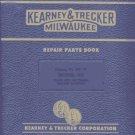 Kearney & Trecker 5H Plain & Universal Mill Part Manual
