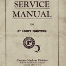 Rockwell Crescent 8 Inch Light Jointer Service Manual