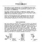 Burgmaster 0B Service Manual