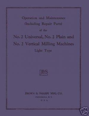 B&S No.2 Light Parts and Operator's Manual Vert. Horiz.