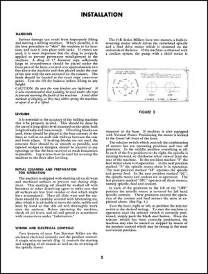 Van Norman 1R-3-22 and 1RQ-3-22 Parts and Ops Manual