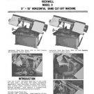 Delta Rockwell Model 9 Horizontal Band Cut-Off Manual