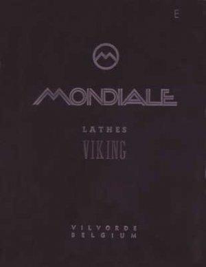 Mondiale Viking Lathe Operators Manual