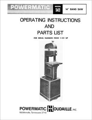 black and decker 12 inch band saw manual