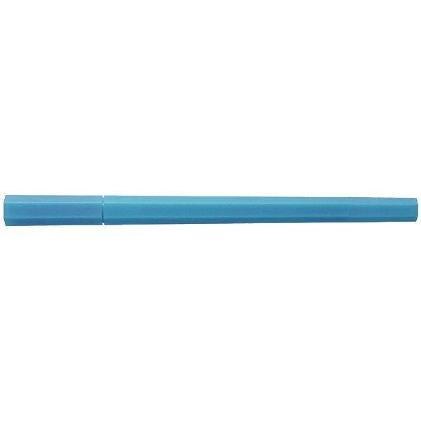 MUJI Japan Double Ended Hybrid Pen HEXAGONAL - Light Blue