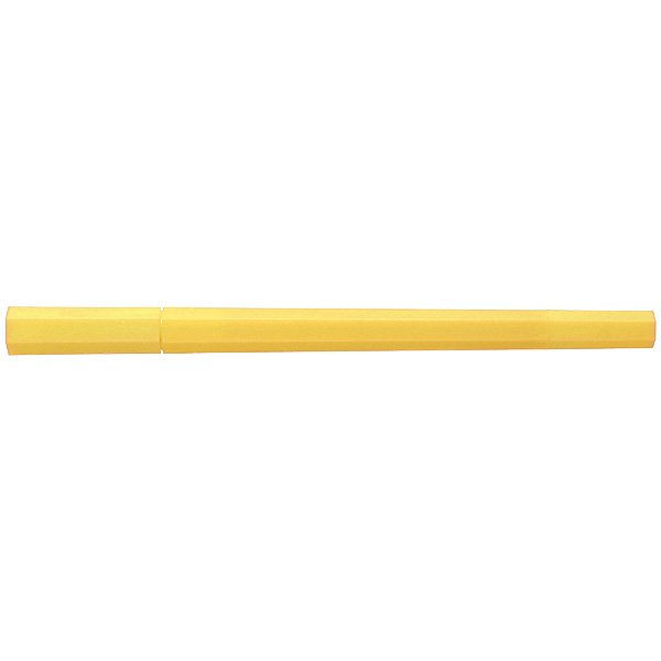 MUJI Japan Double Ended Hybrid Pen HEXAGONA - Yellow