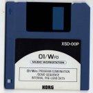 KORG 01/W Pro ProX  * * FACTORY DISK **