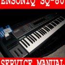 ENSONIQ SQ80 (SQ-80) Synth Service / Schematics