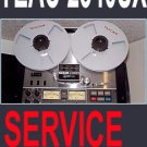 TEAC A-2340SX a2340sx Reel-to-Reel  Service Manual