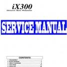 KORG  iX-300 / iX300  KEYBOARD -= SERVICE MANUAL =-