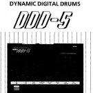 KORG DDD-5 Drum unit   ** SERVICE MANUAL **