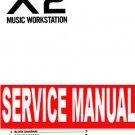 KORG X2  X-2 ** SERVICE MANUAL **