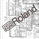 ROLAND JUPITER 8 SYNTH JP8 JP-8  SERVICE MANUAL / NOTES