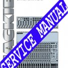 MACKIE 1604 VLZ / Pro Complete Service manual *PAPER