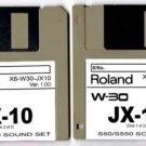 JX-10 JX10 Sound set (2 disks) for ROLAND W-30 W30